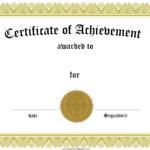 Award Certificate Template Certificate Templates Best Free Within Award Certificate Templates Word 2007