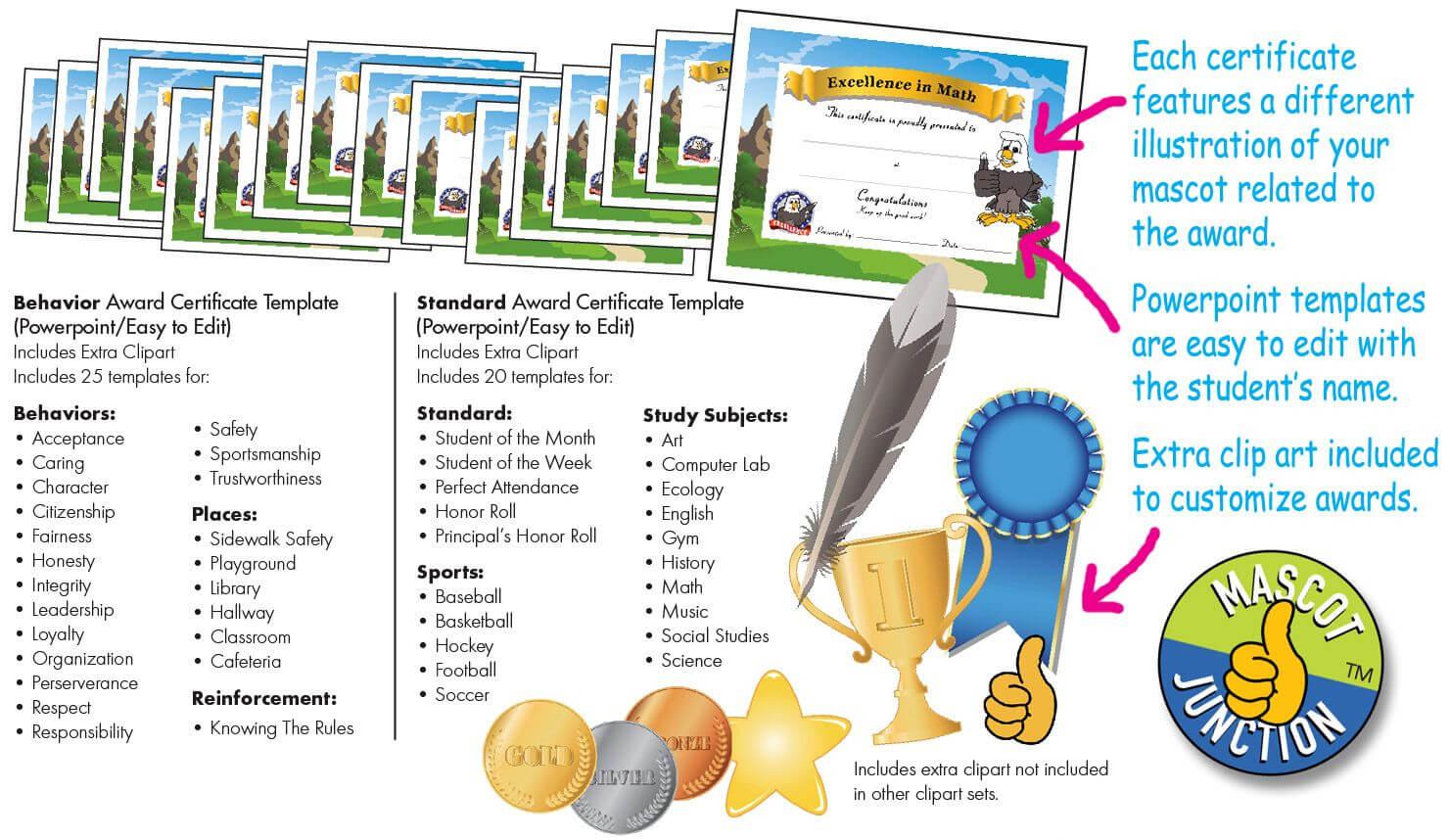 Award Certificates Pbis | Pbis Reward Ideas | Award With Regard To Math Certificate Template