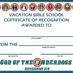 Awesome Collection For Vbs Certificate Template On Free For Free Vbs Certificate Templates