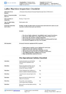 Awesome Machine Shop Inspection Report Template For Payroll with Machine Shop Inspection Report Template