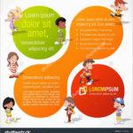 Awesome Preschool Brochure Template Free | Best Of Template Throughout Play School Brochure Templates