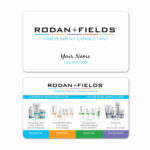 Awesome Rodan And Fields Business Cards Vistaprint Within Rodan And Fields Business Card Template