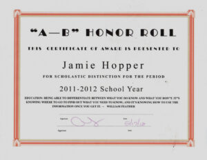 B Honor Roll Certificate Template A – Reeviewer.co With regarding Honor Roll Certificate Template