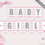 Baby Shower Banner Template Printable Tutu Excited Banner regarding Baby Shower Banner Template