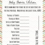 Baby Shower Games: Price Is Right – Frugal Fanatic Inside Price Is Right Powerpoint Template