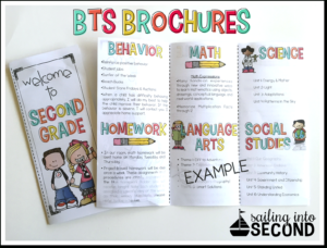 Back To School Night | Meet The Teacher Template Editable intended for Brochure Templates For School Project
