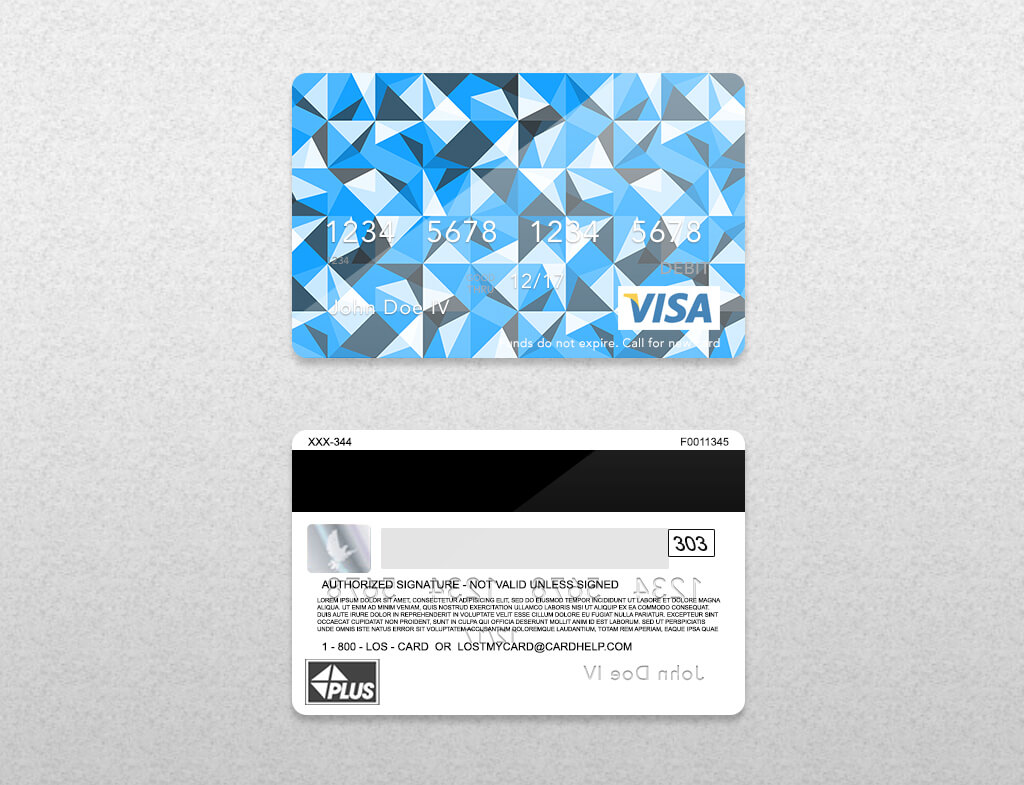 Bank Card Psd Template On Behance Inside Credit Card Templates For Sale