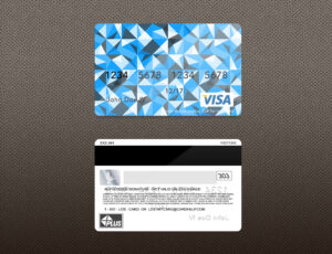 Bank Card Psd Template On Behance with Credit Card Templates For Sale