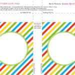 Banner Squares Stripes Sesame Street Printablepartyshop Regarding Sesame Street Banner Template