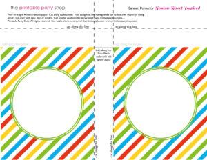 Banner-Squares-Stripes-Sesame-Street-Printablepartyshop throughout Staples Banner Template