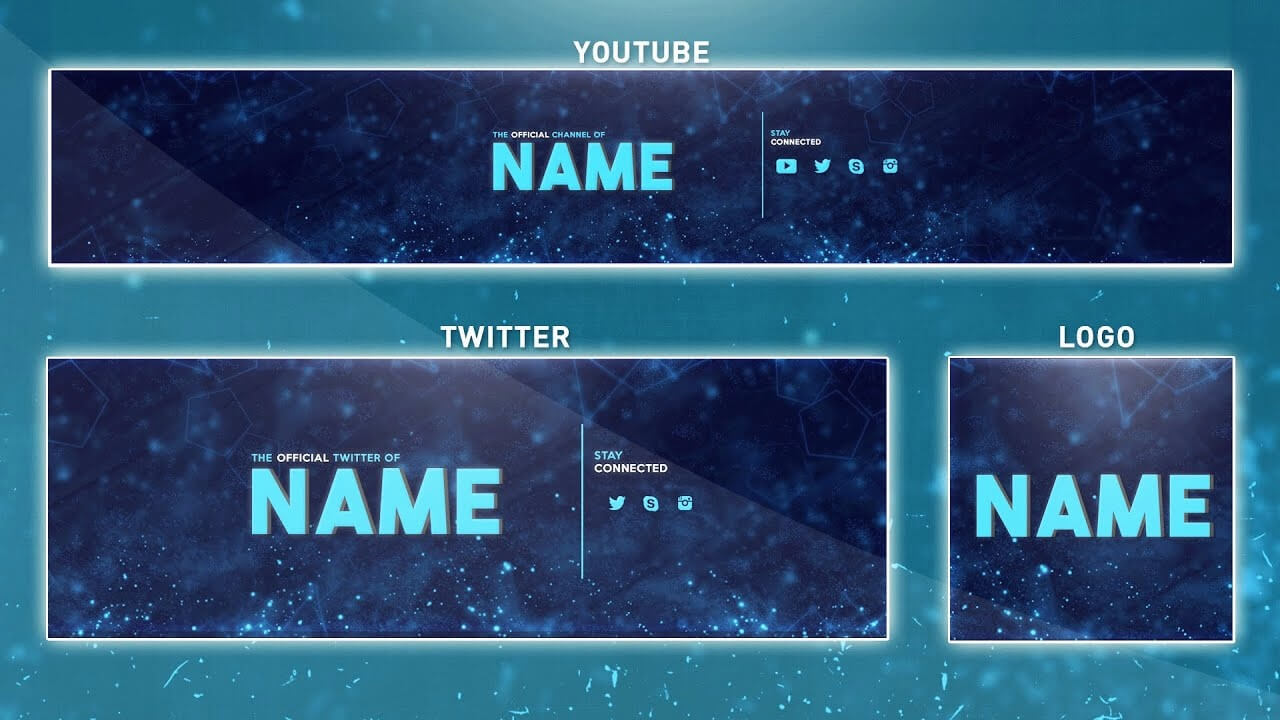 Banner Template Photoshop Five Things You Need To Know With Twitter Banner Template Psd