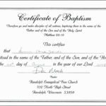 Baptism Certificate Template Word Free for Baptism Certificate Template Word