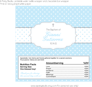 Baptism/christening | A Party Studio Pertaining To Christening Banner Template Free