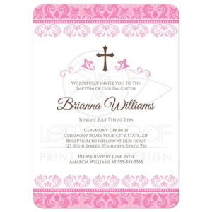 Baptism Invitation Wording Bible Verses | Baptism in Blank Christening Invitation Templates
