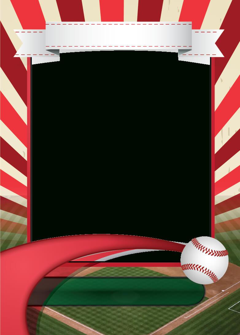 Baseball Card Template Mockup | Andrea's Illustrations For Baseball Card Template Psd