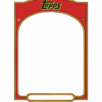 Baseball Card Template Sports Trading Card Templet - Topps for Baseball Card Template Word