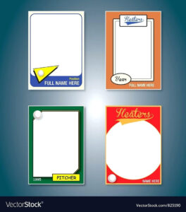 Baseball Card Template – Verypage.co intended for Baseball Card Template Microsoft Word