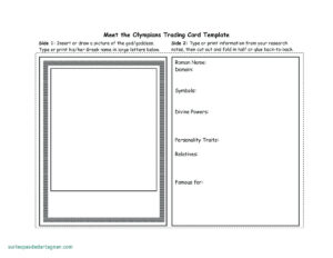 Baseball Card Template – Verypage.co intended for Trading Cards Templates Free Download