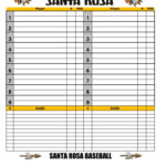 Baseball Dugout Chart | Baseball | Baseball Dugout, Baseball Throughout Dugout Lineup Card Template