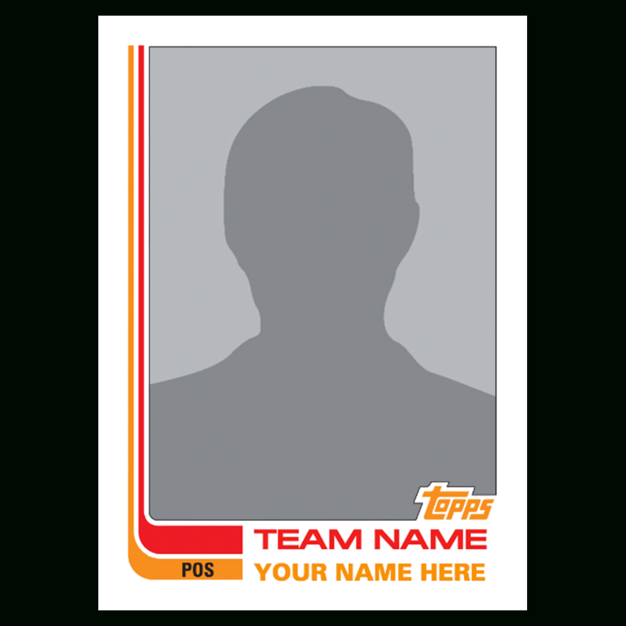 Baseball Trading Card Templates Clipart Images Gallery For Inside Trading Cards Templates Free Download