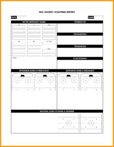 Basketball Ng Report Template Printable Books Historical G in Basketball Scouting Report Template