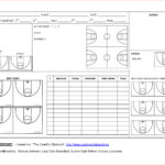 Basketball Scouting Report Template – Dltemplates inside Scouting Report Basketball Template