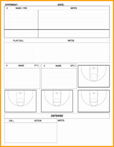 Basketball Scouting Report Template Inspirational Basketball with regard to Scouting Report Basketball Template