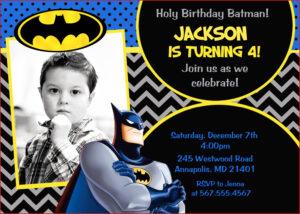 Batman Birthday Card Template Batman Superhero Birthday throughout Batman Birthday Card Template