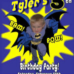 Batman Birthday Invitations Within Batman Birthday Pertaining To Batman Birthday Card Template