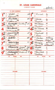 Batting Order (Baseball) – Wikipedia Regarding Dugout Lineup Card Template