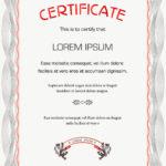 Beautiful Certificate Template Word Regarding Beautiful Certificate Templates
