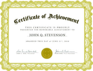 Beautiful Certificate Template Word throughout Pageant Certificate Template