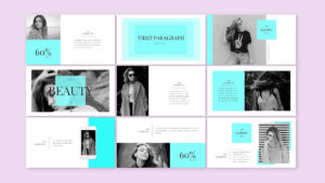 Beauty – Presentation Templates, Powerpoint + Keynote On Behance in Pretty Powerpoint Templates