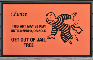 Behar 2019: Get-Out-Of-Jail-Free Card : The Oisvorfer Ruv for Get Out Of Jail Free Card Template