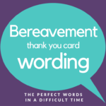 Bereavement Thank You Notes | Lovely Wording Examples Pertaining To Sympathy Thank You Card Template