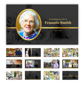 Best Funeral Powerpoint Templates Of 2019 | Adrienne Johnston For Funeral Powerpoint Templates