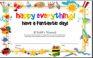 Best Ideas For Kids Gift Certificate Template On Summary within Kids Gift Certificate Template