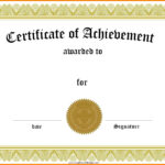 Best Ideas For School Certificate Templates Free Of Your in School Certificate Templates Free