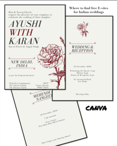 Best Places To Get Free Online Wedding Invitations: For for Free E Wedding Invitation Card Templates