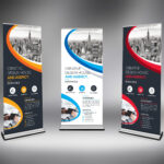 Best Roll Up Banner Template 000633 With Pop Up Banner Design Template