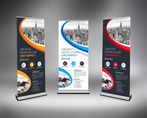 Best Roll-Up Banner Template 000633 with Pop Up Banner Design Template