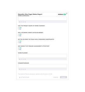 Best Status Report Templates [25+ Free Samples] – Status throughout One Page Status Report Template