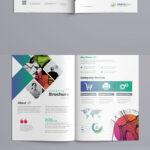 Bi Fold Brochure Template Indesign Indd – A4 And Us Letter In Letter Size Brochure Template