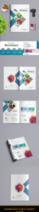 Bi Fold Brochure Template Indesign Indd – A4 And Us Letter In Letter Size Brochure Template