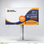 Billboard, Banner, Design, Template, Layout, Stand in Outdoor Banner Design Templates