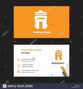 Bin Business Card Design Template, Visiting For Your Company pertaining to Bin Card Template