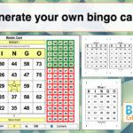 Bingo Card Generator Excel Tutorial Inside Bingo Card Template Word