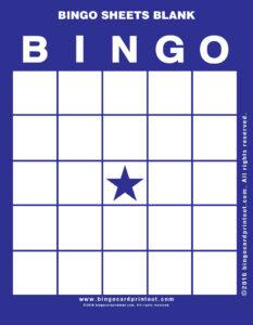 Bingo Sheets Blank 6 | Bingo Sheets Blank | Bingo Card within Blank Bingo Card Template Microsoft Word