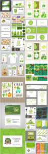 Bio Organic Card Template – 25 Vector » Free Download Vector Within Bio Card Template