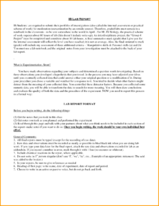 Biology Lab Report Example Books Historical Bio Ib Mesocosm pertaining to Biology Lab Report Template
